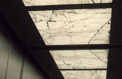 Bianco Carrara Backlit Decke
