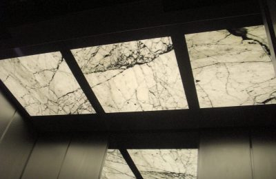 Bianco Carrara Backlit Decke
