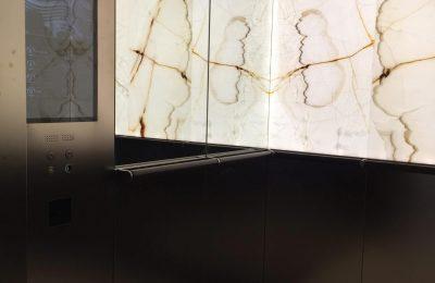 Onyx backlit walls